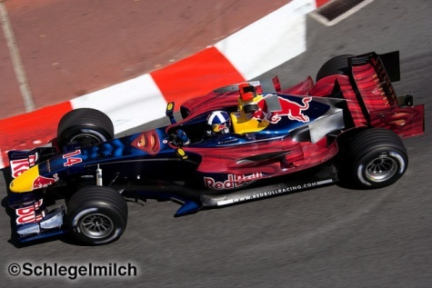 Red Bull RB2 GP Monaco superman
