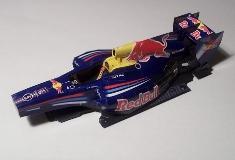 Red Bull RB6 - Spain GP 2010, Sebastian Vettel