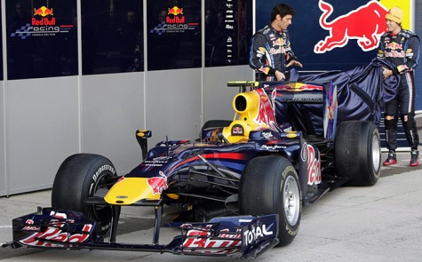 Red Bull RB6 Spain 2010