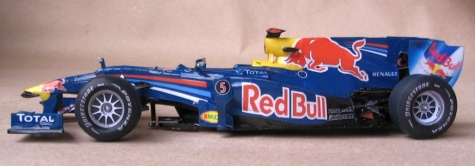 Red Bull RB6, 2010, GP Spain