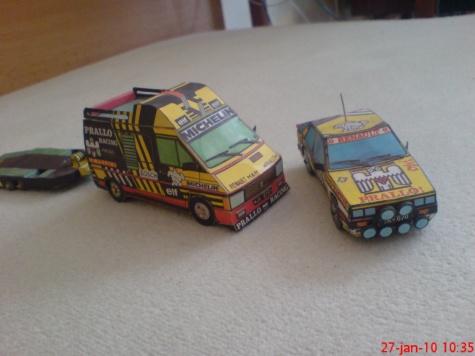 Renault R11 TURBO & Renault Trafic