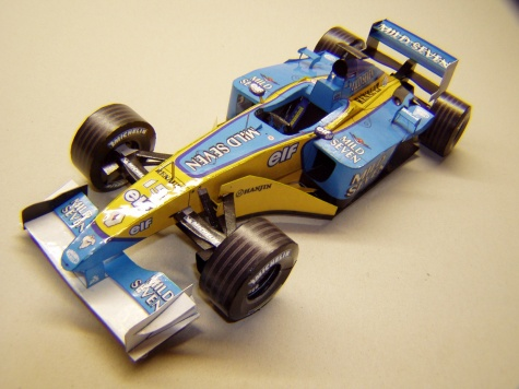 Renault R202, 2002, J. Button