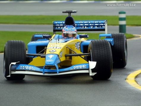 Renault R202,2002 ,Jenson Button