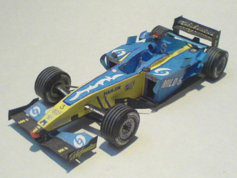 Renault R25 Fernando Alonso 2005