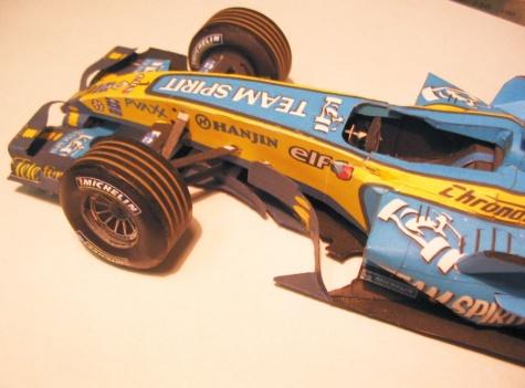 Renault R26, GP Brazil 2006