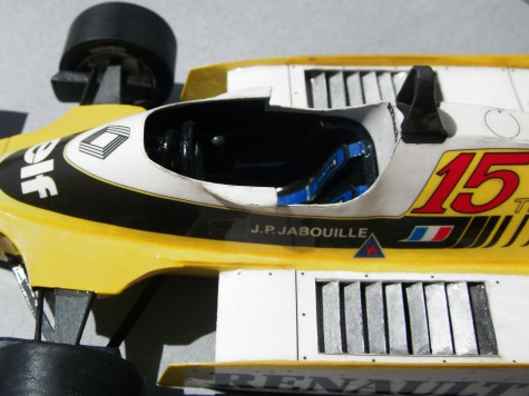 Renault RE 20, J.P.Jabouille, GP USA, 1980