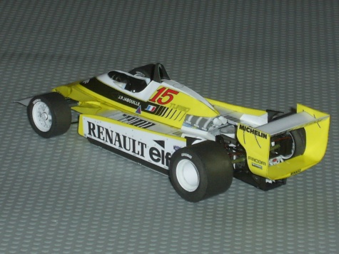 RENAULT RE-20 Turbo,J.P.Jabouille 1980