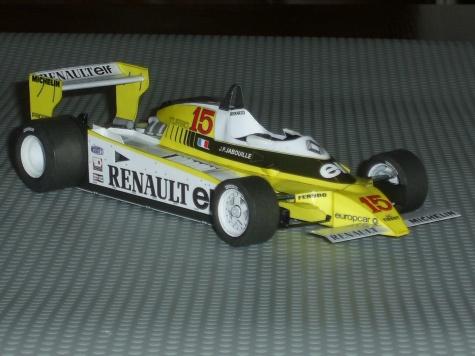 RENAULT RE-20 Turbo,J.P.Jabouille 1980