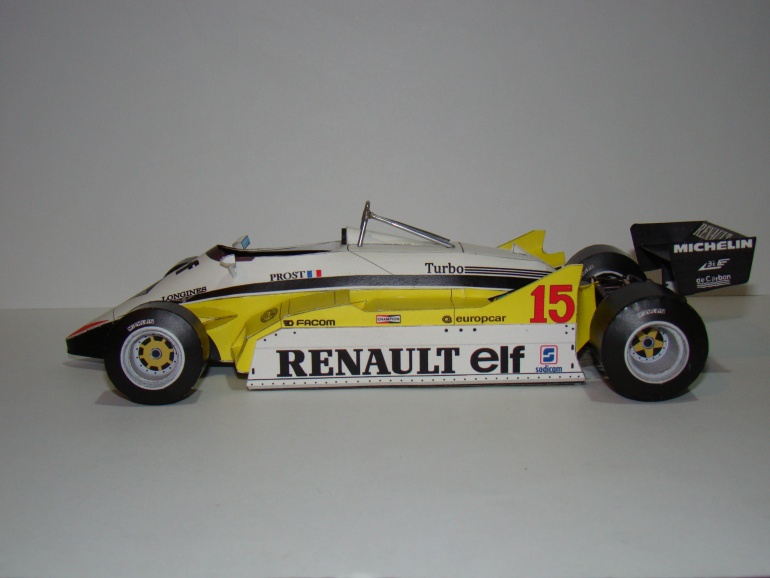 Renault RE30B - 1982 - Alain Prost