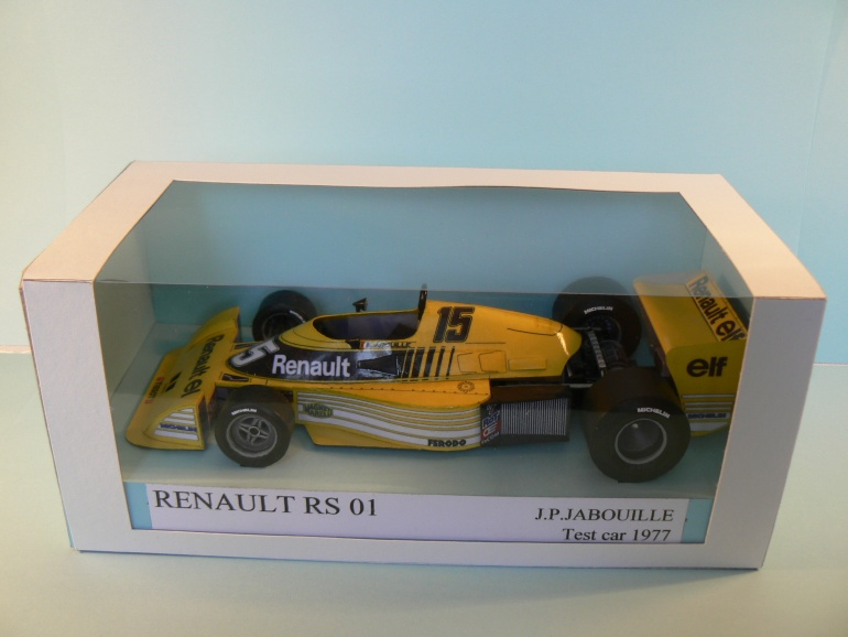 RENAULT RS 01,1977 J.P.Jabouille test car