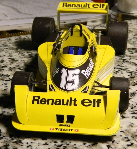 Renault RS 01 Test car 1977