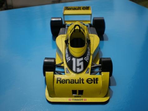 Renault RS01 Test car
