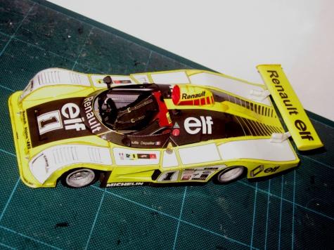 Renault Alpine A443 Le Mans 1978