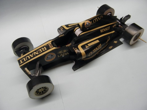 Renault R31, 2011, B. Senna