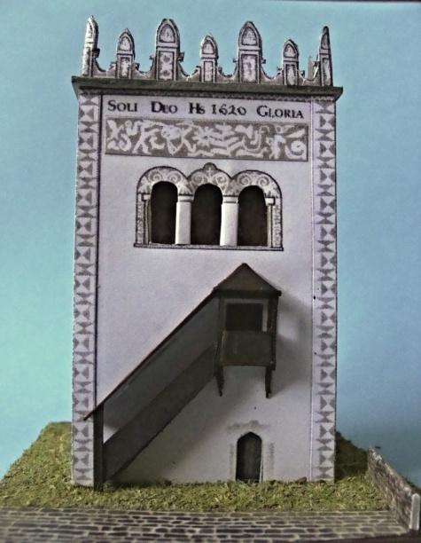 renesanční zvonice Strážky
