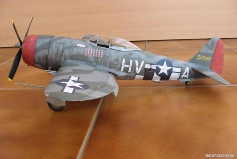 Republic P 47D-25 Thunderbolt