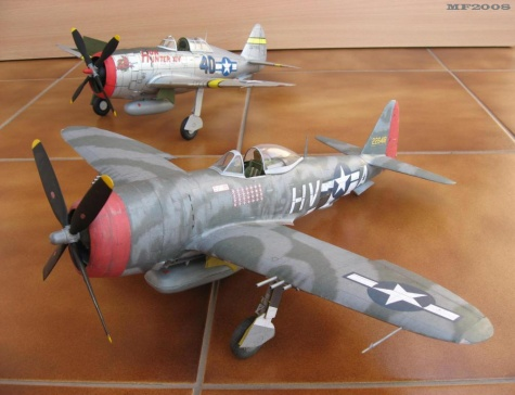 Republic P 47D-25 Thunderbolt