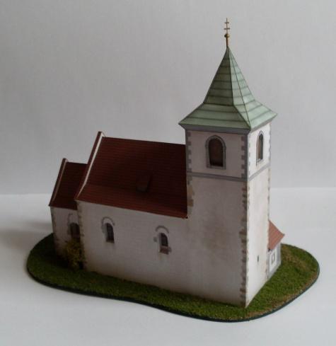 Řesanice - kostel Všech svatých