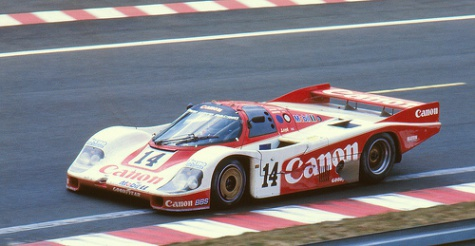 Richard Lloyd Racing Porsche 956B, Le Mans 1985,