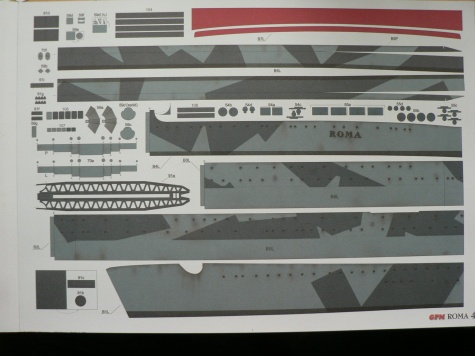 The Ship Model Forum • View topic - RN Roma / Paper model