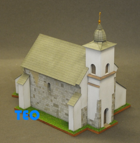 Románský kostel Kalinčiakovo