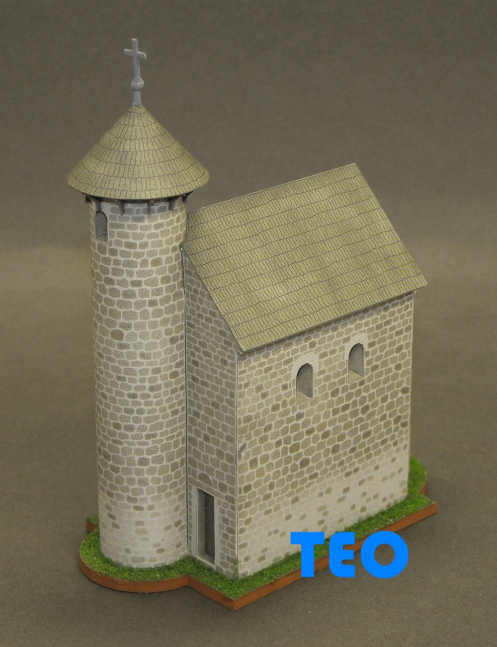 Románský kostel - Velký Klíž