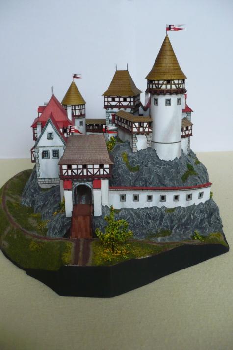 Romantický hrad ze 14. stol.
