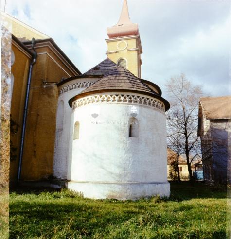 rotunda Sv.Kríža Križovany nad Dudváhom.