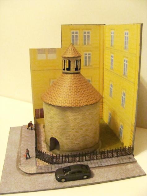 rotunda Sv.Kříže Menšího