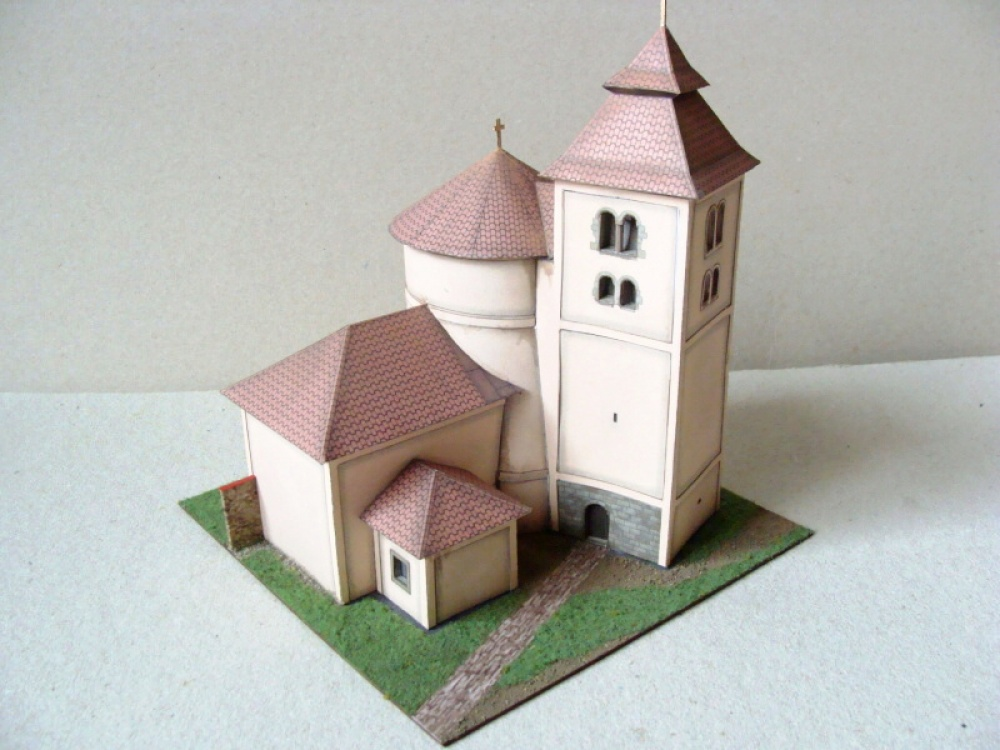 rotunda Sv.Petra a Pavla - Budeč