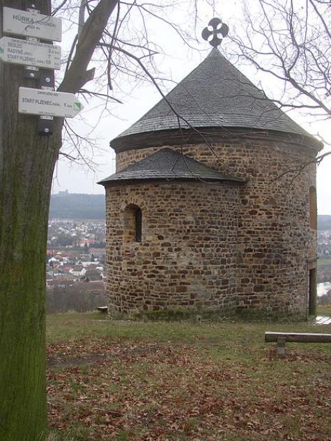 rotunda Sv.Petra a Pavla Starý Plzenec.