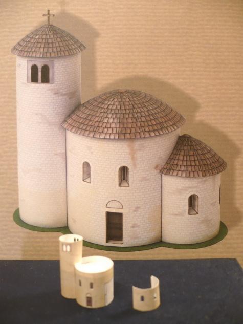 Rotunda svatého Jiří na hoře Říp