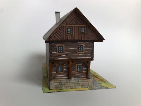 Roubené stavení z Kokořínska