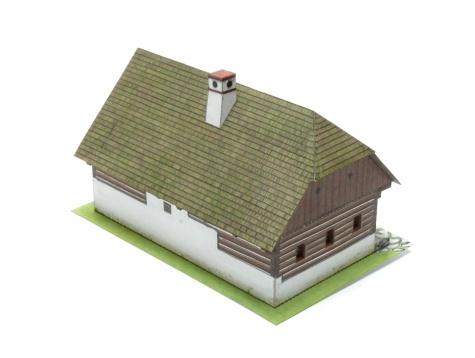 Roubený dům z Pošumaví