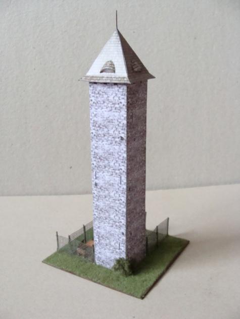 rozhledna Vodárenská věž v Chrasti