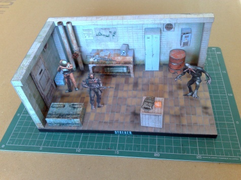 S.T.A.L.K.E.R. diorama