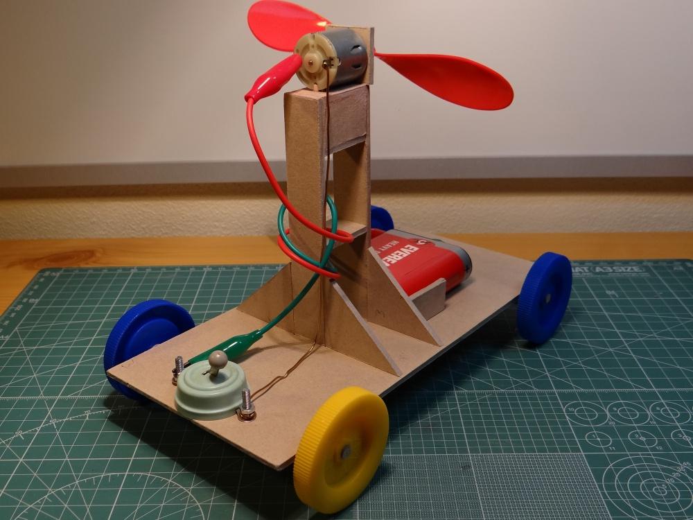 Samohyb elektro-větrový