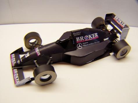 Sauber C13, 1994, K. Wendlinger