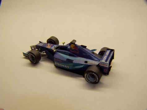 Sauber C20, 2001, K. Raikkonen