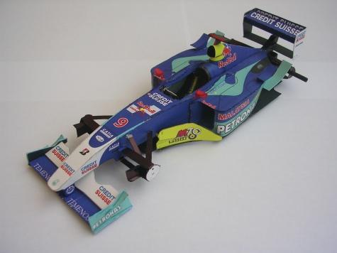 Sauber Petronas C22, 2003 Nick Heidfeld