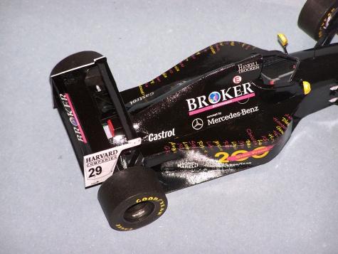 Sauber C13, GP Canada 1994