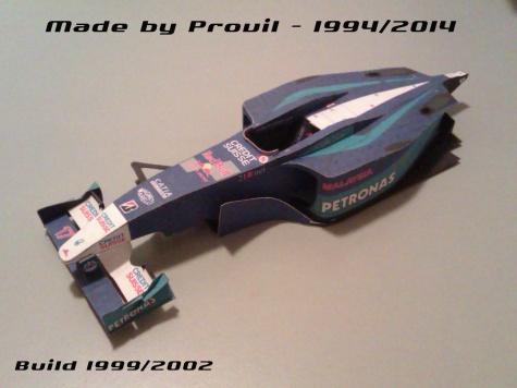 Sauber C20 - (17) Kimi Räikkönen