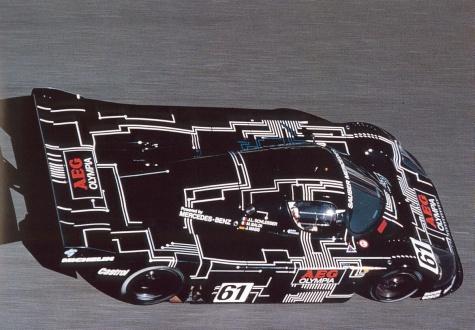 Sauber Mercedes C9 - 1988