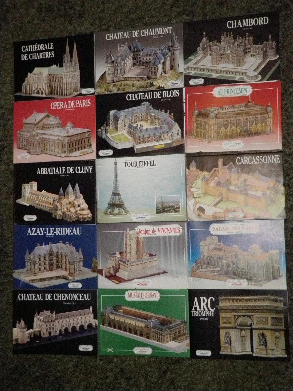 Sbírka francouzských modelů
