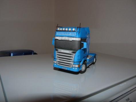 Scania R580 V8 Blue Eagle +Návěs Schwarzmuller