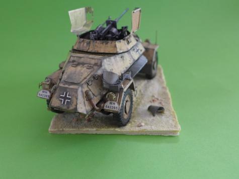 Sd. Kfz. 222 Libia 1941