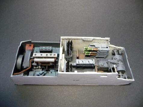 sd kfz 138 marder ausf h model hobby 1 25 fertig. Black Bedroom Furniture Sets. Home Design Ideas