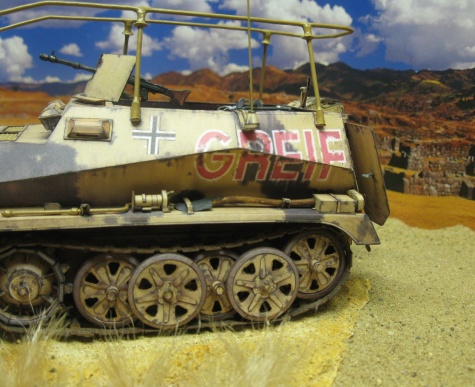 Sd.Kfz. 250/3 Greif / GPM / Kovář