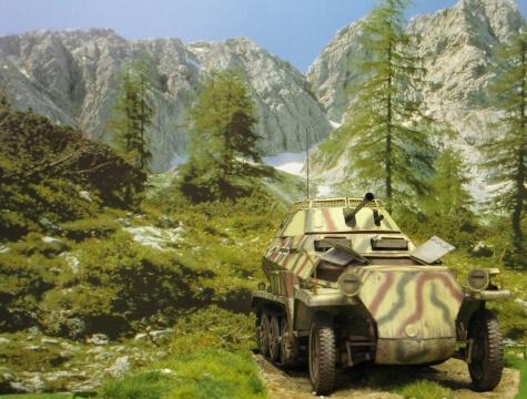 Sd.Kfz. 250/9 Ausf A - Kovář