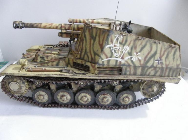 Sd.Kfz.124 Wespe / GPM / 1:25